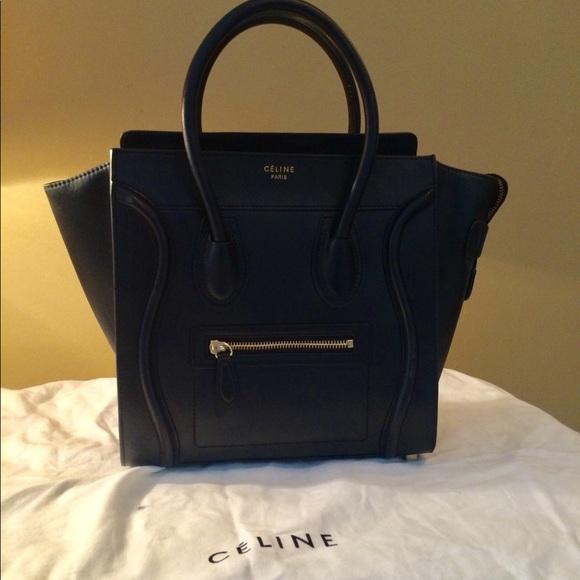 35ac984a47066 Celine Bags | Micro Luggage Tote | Poshmark